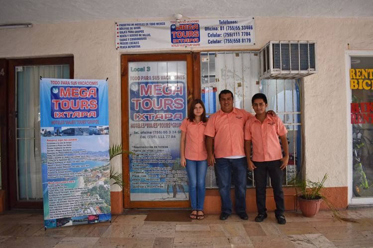 Mega Tours Ixtapa, Agencia de Viajes en Ixtapa Zihuatanejo. Reservaciones de Hoteles en Ixtapa Zihuatanejo. Renta de Villas y Casas en Ixtapa Zihuatanejo. Renta de Autos y Autobuses en Ixtapa Zihuatanejo
